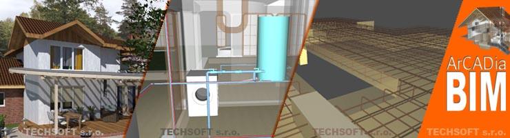DWG kompatibilný systém postavený na BIM technológii