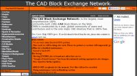 CAD Block Exchange Network™
